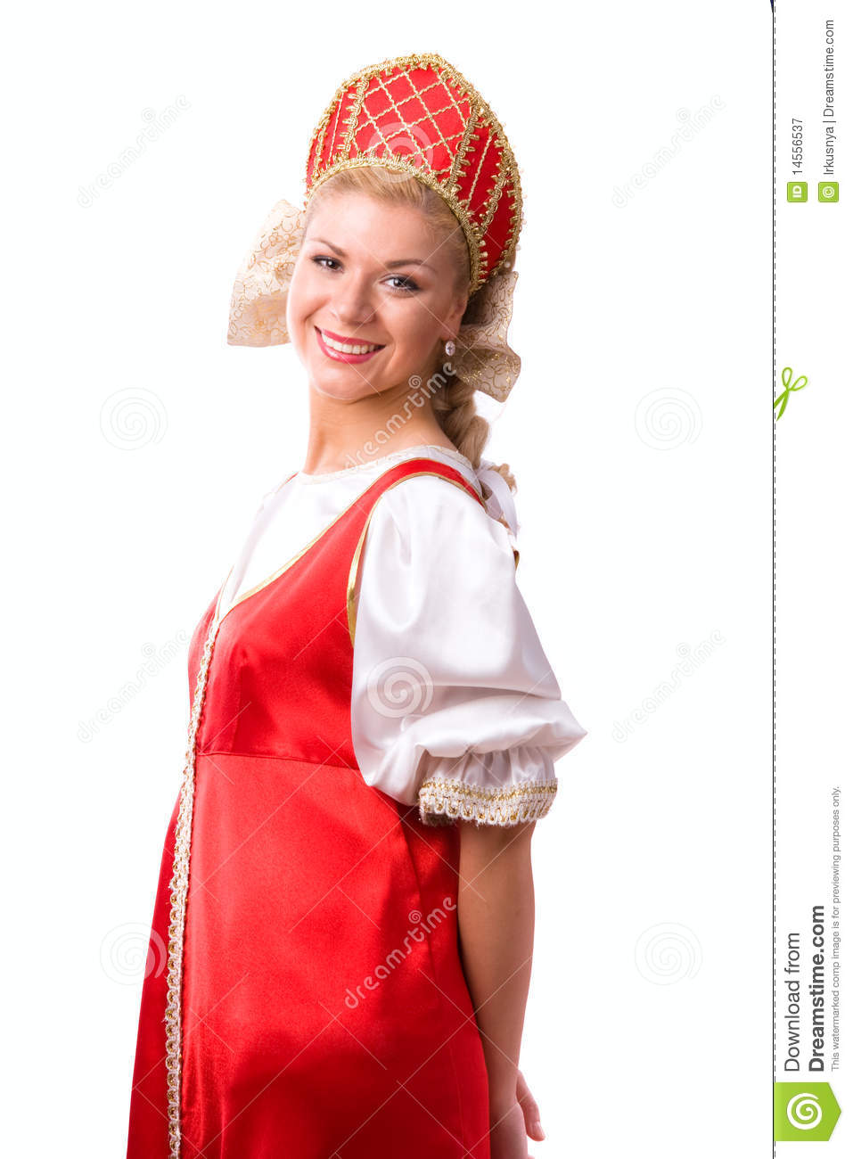 Woman In Traditional Russian 84