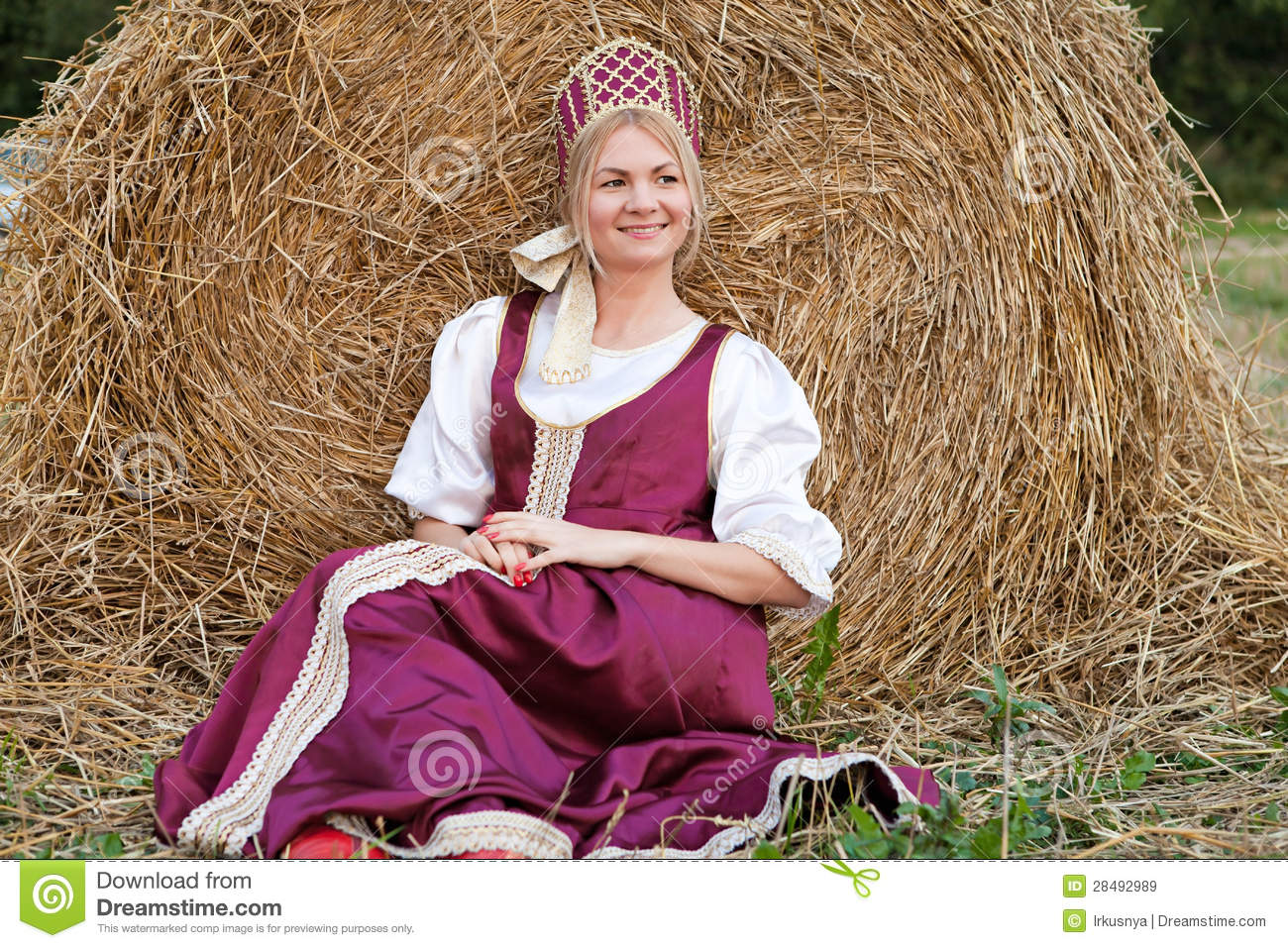 Traditional Russian Woman From 89