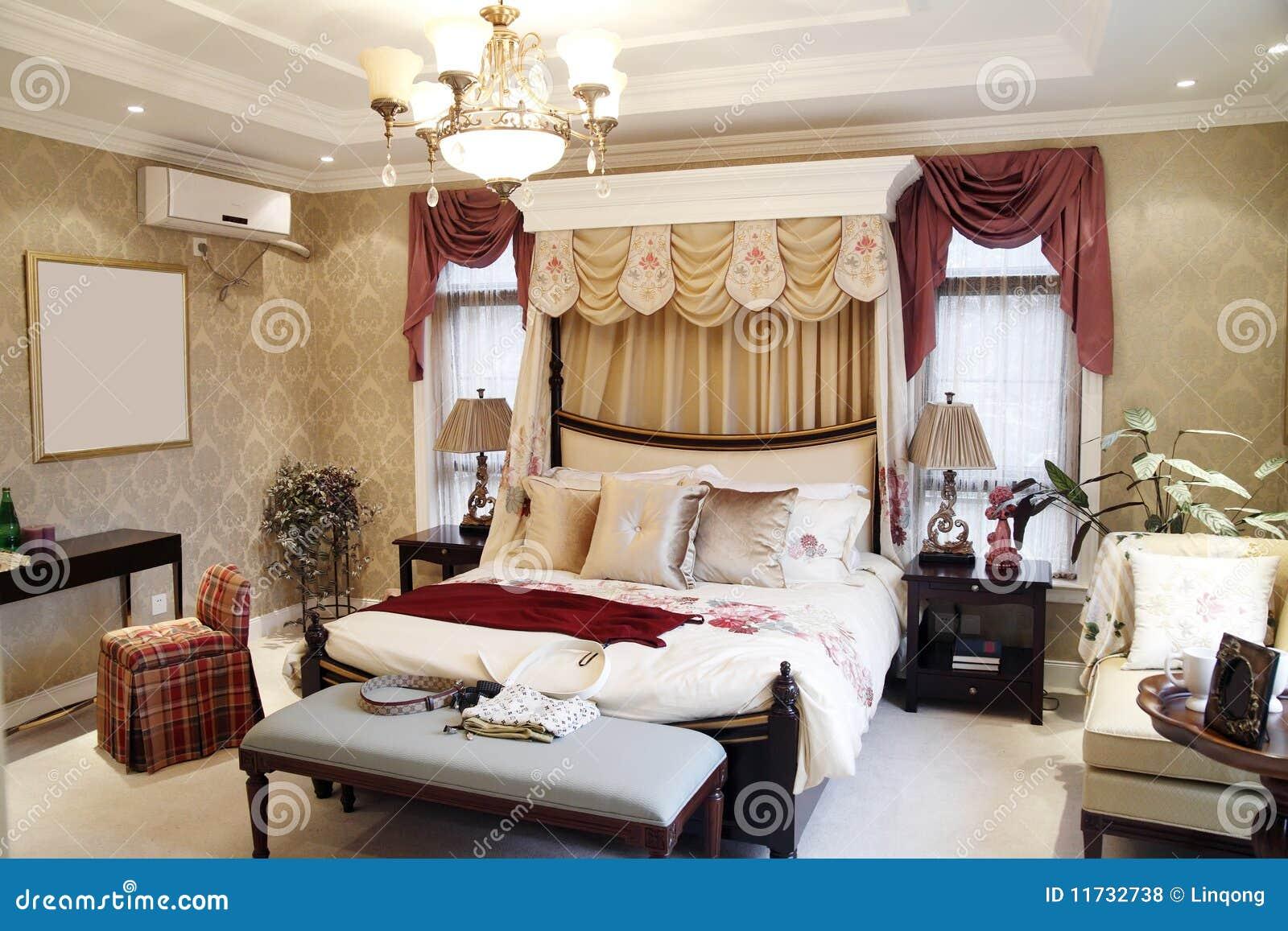 Woman S Bedroom Interior Royalty Free Stock Photos Image