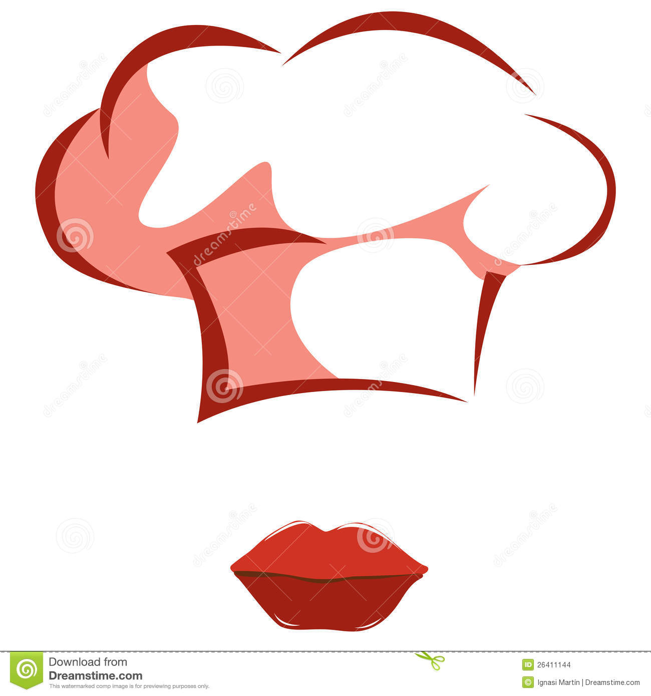Woman's Chef Hat Stock Images - Image: 26411144