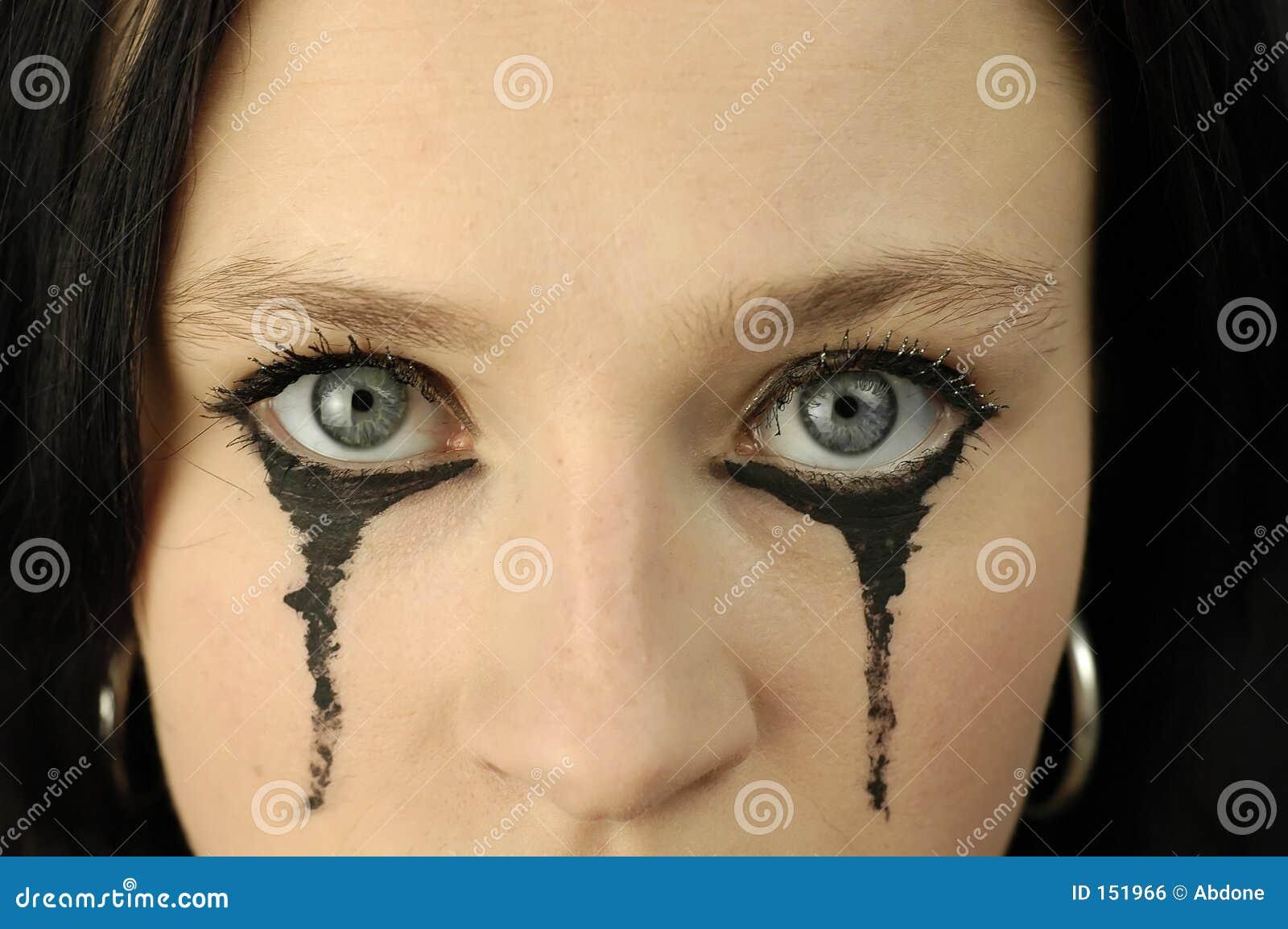 Woman s eyes
