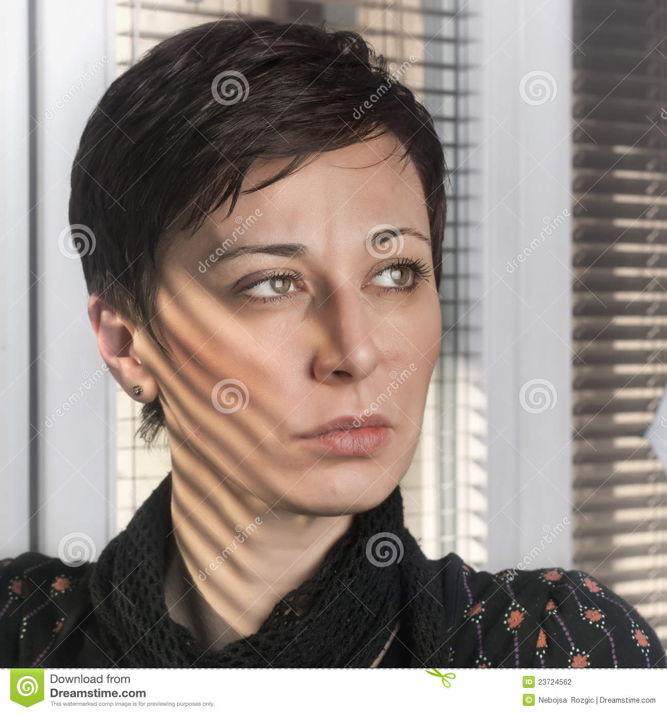 Woman s face