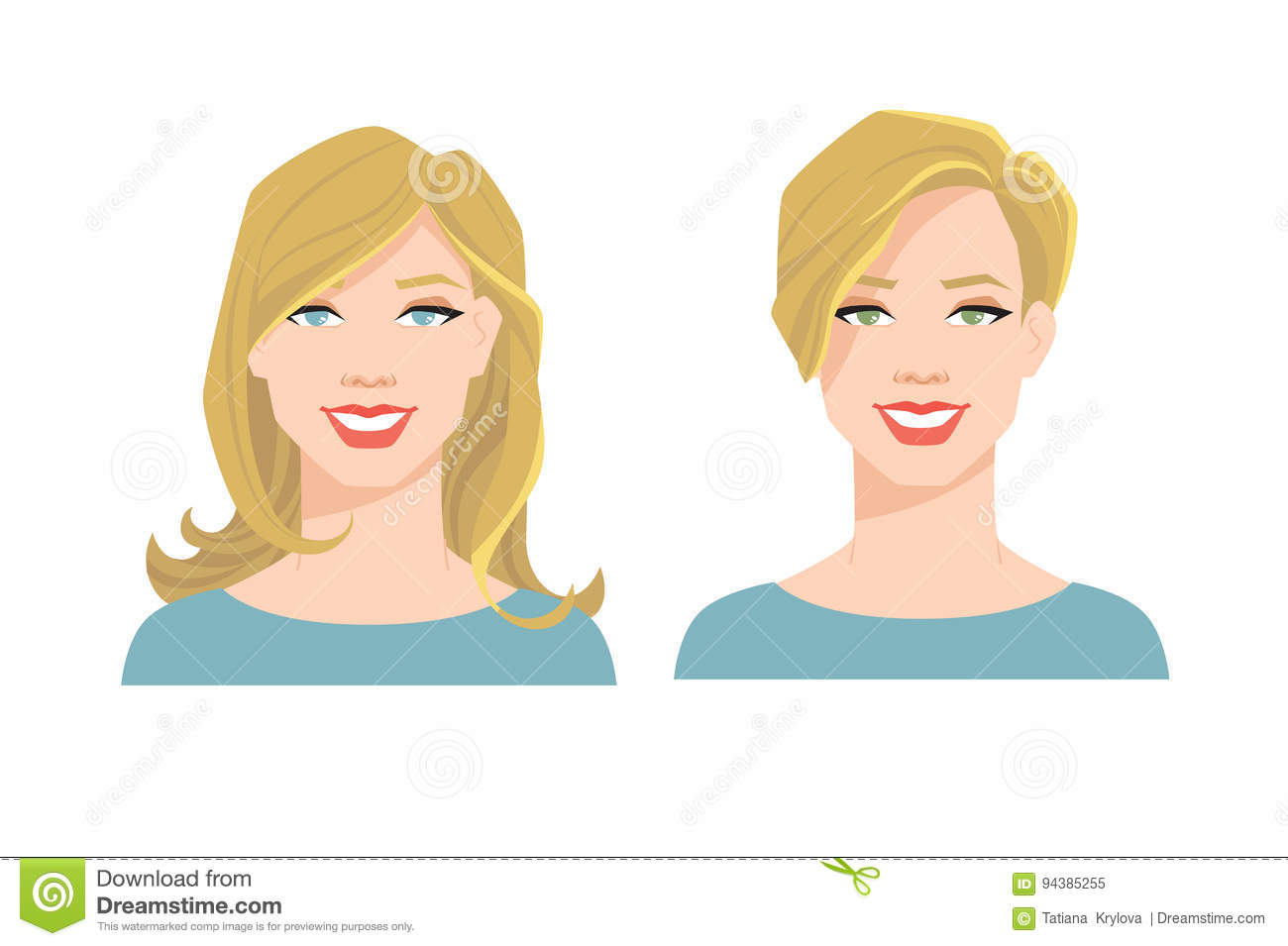 Blondy Cartoons, Illustrations & Vector Stock Images