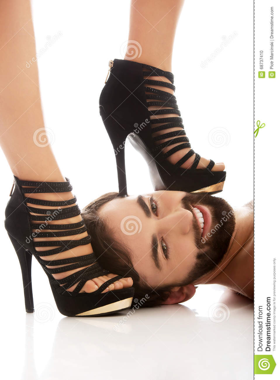 Strong powerful women sexy feet dominate