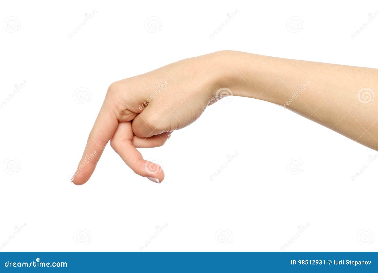 Finger someone to Finger