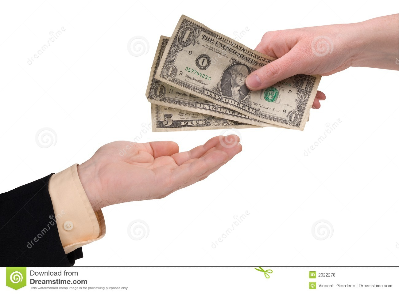 Woman's hand holding money stock photo. Image of ...Holding Money In Hand