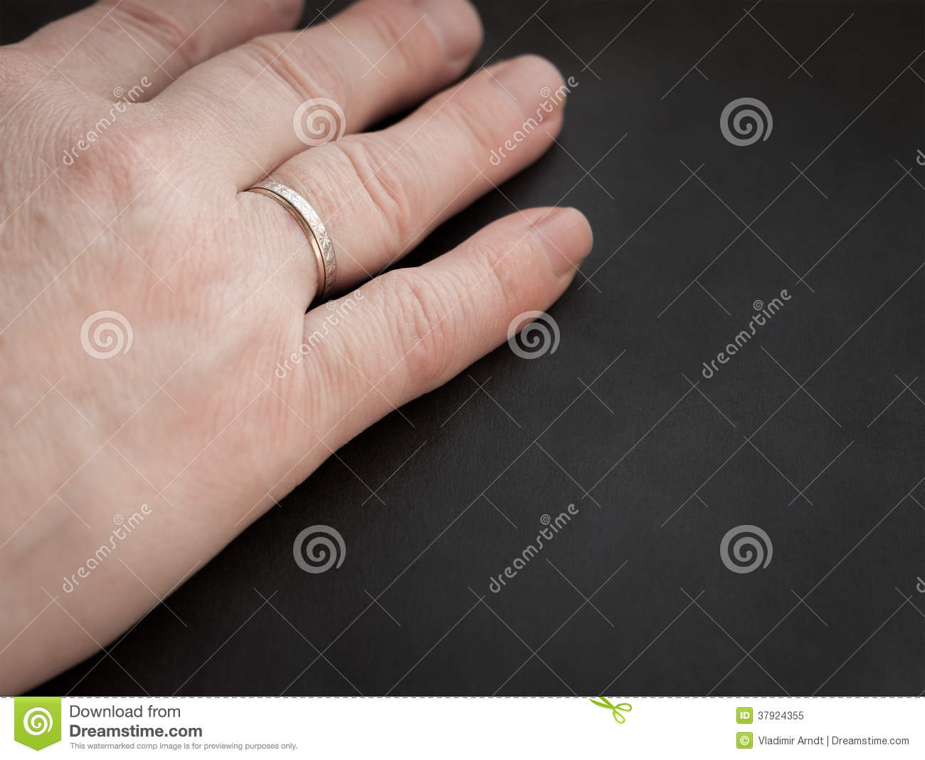 Woman S Hand With Ring