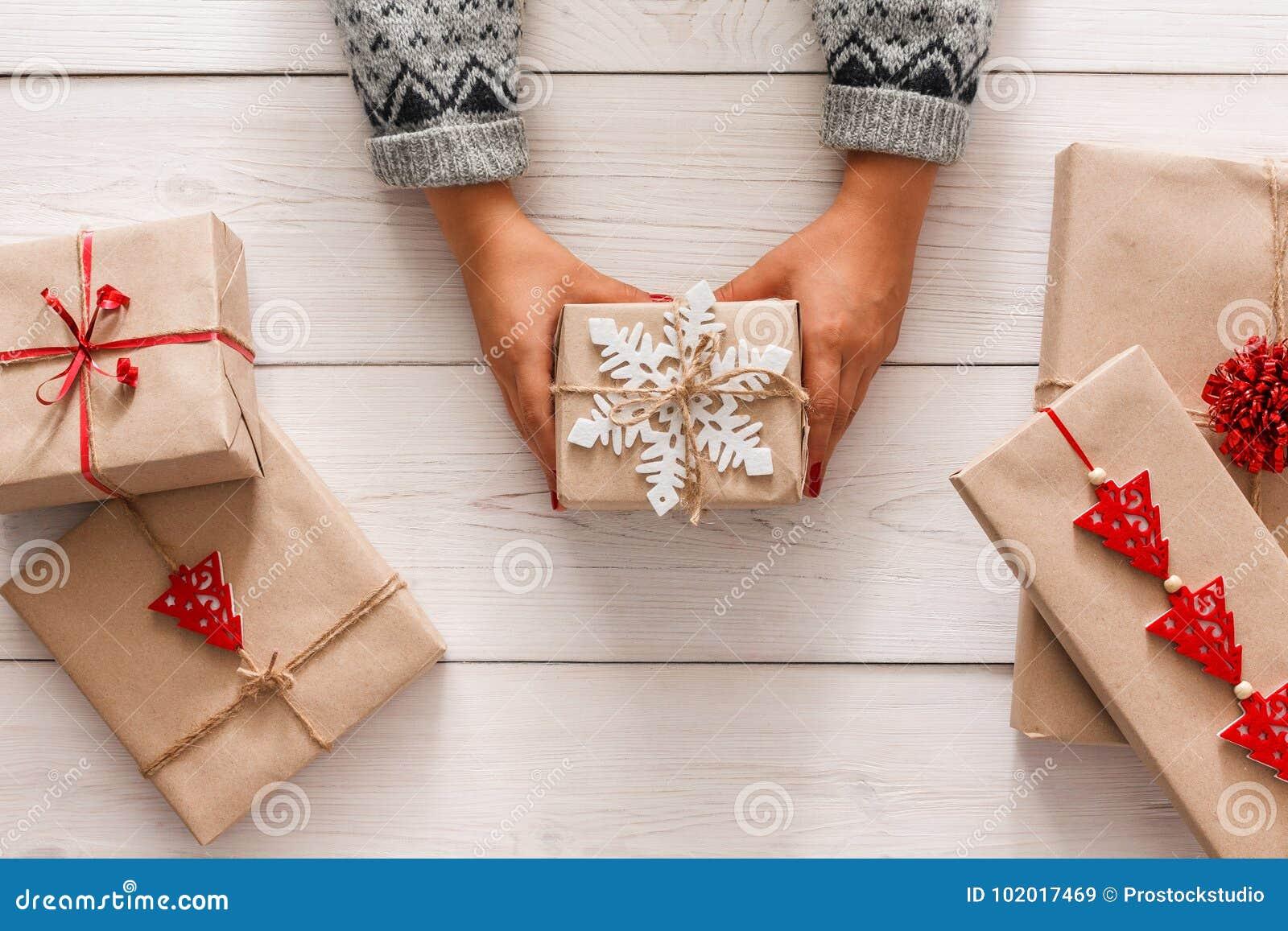 Handmade gifts for christmas holidays