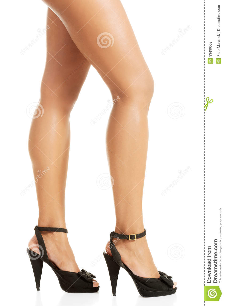 s legs and high heel shoes stock photography image
