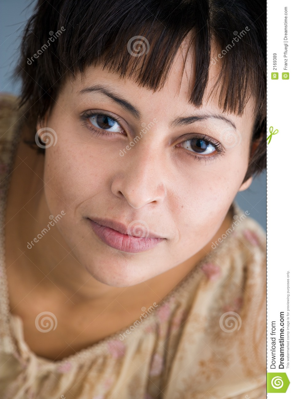 Woman s portrait