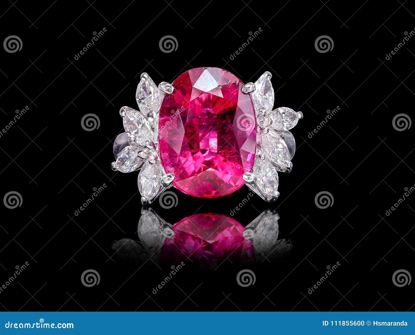 Diamonds Pink black background pictures best photo