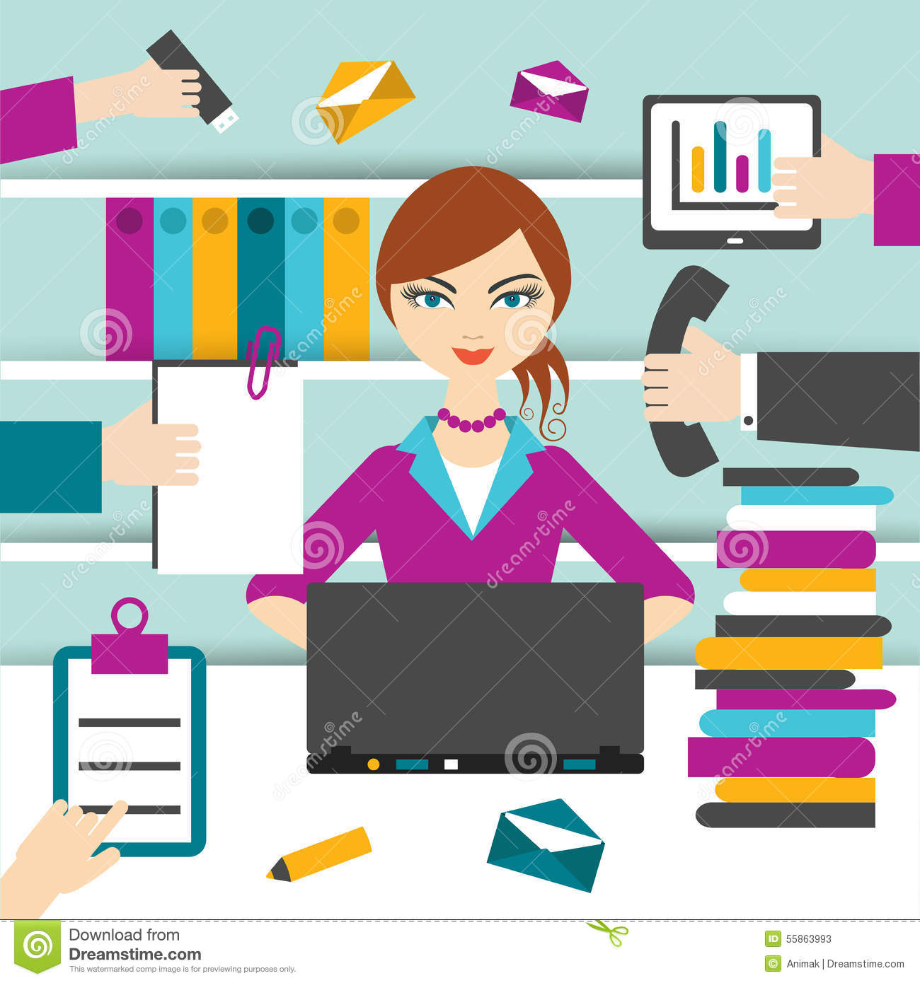 how to appear busy at work