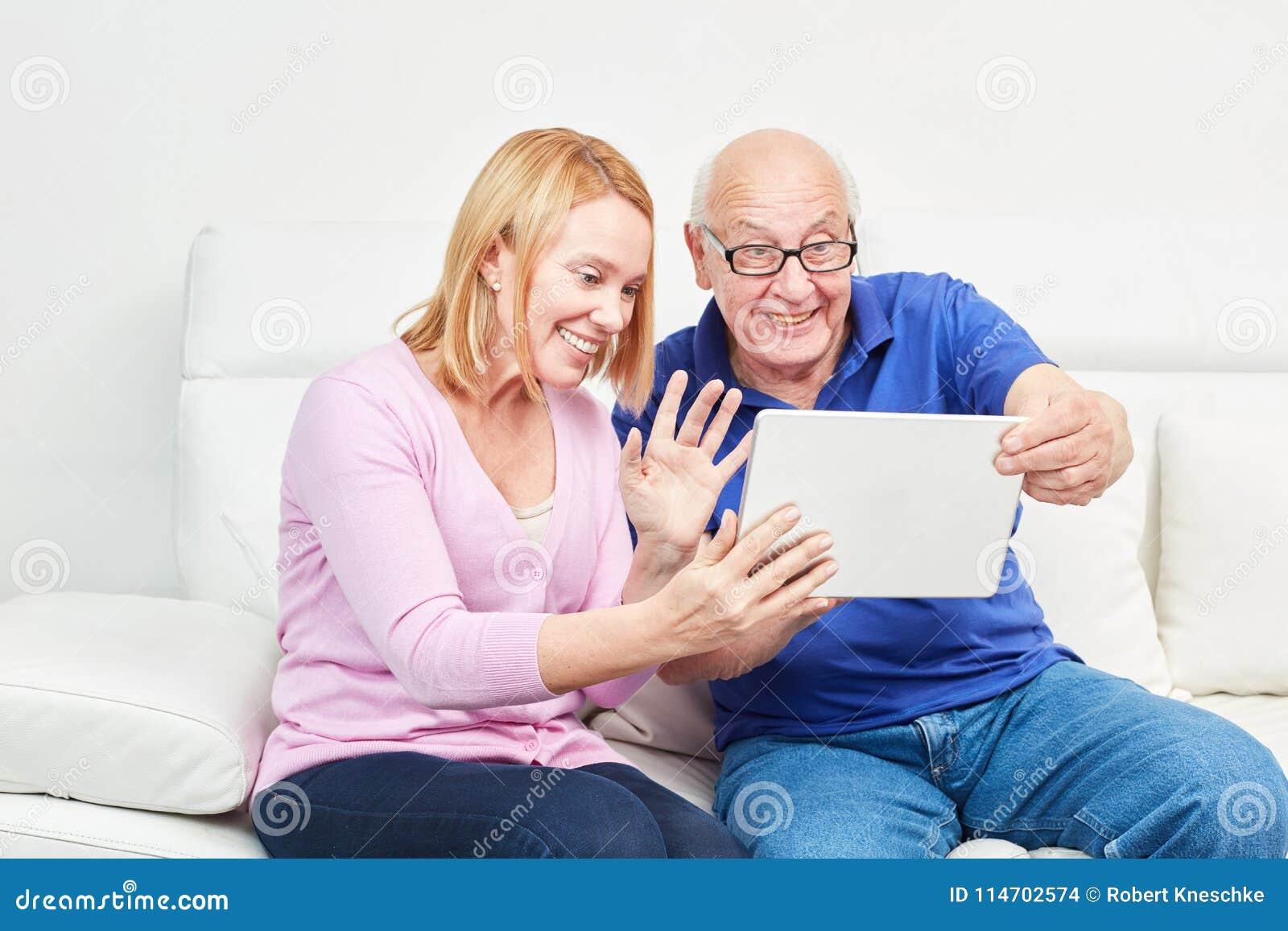 Senior citizen chat