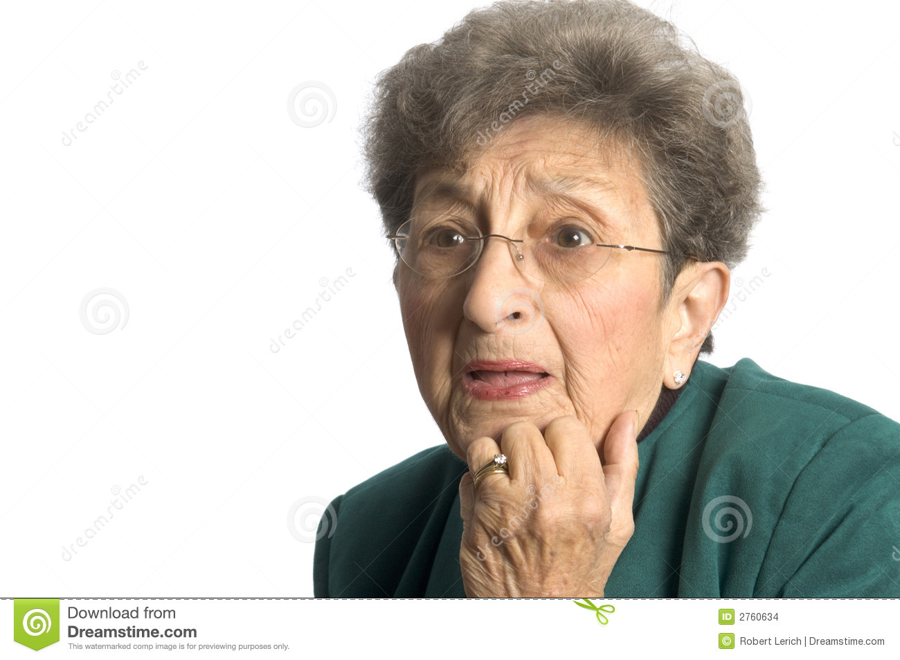 Woman With Shocked Look Stock Images - Image: 2760634