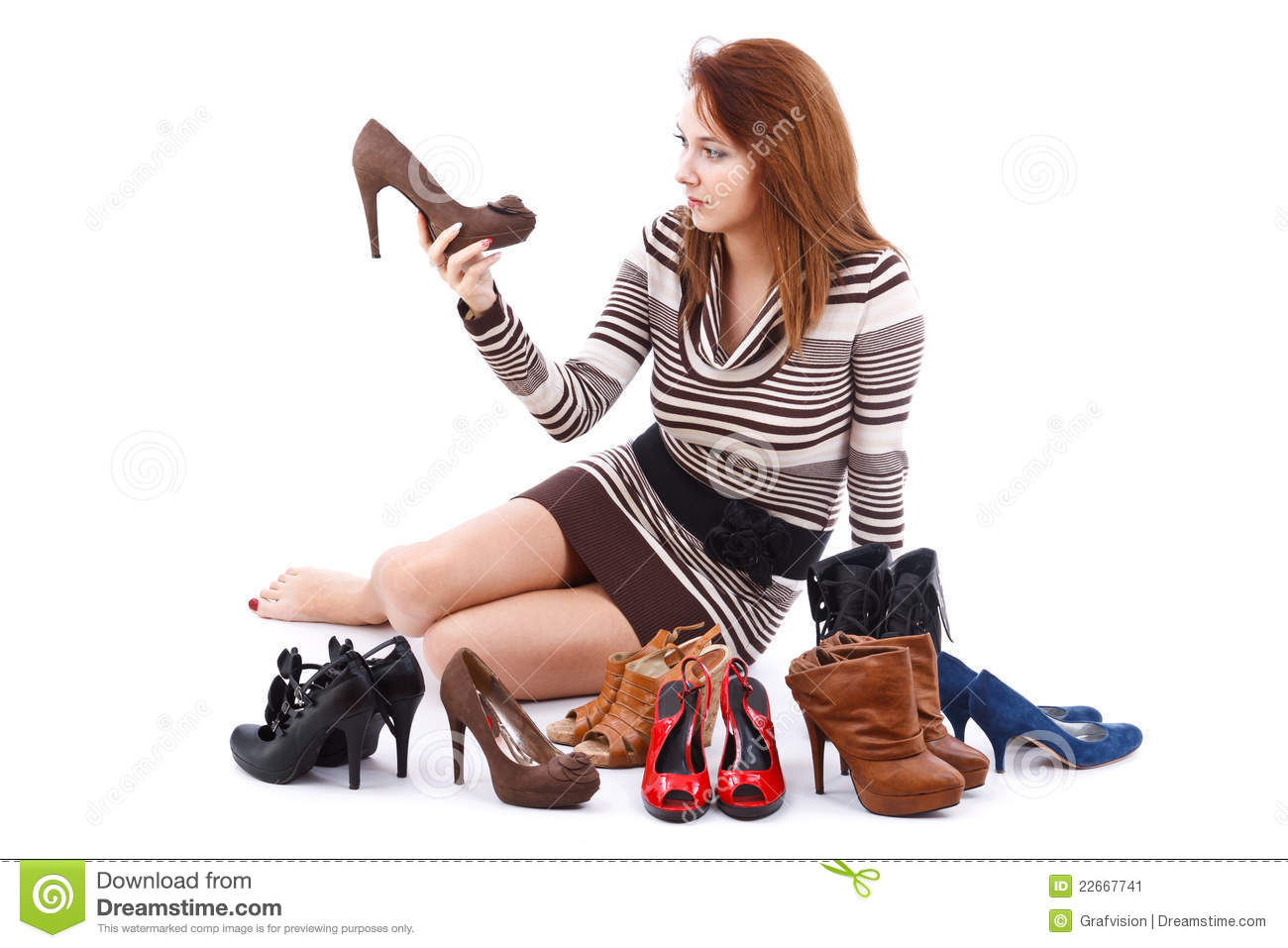 Design Floor Plan Online Woman And Shoes Stock Image Image 22667741