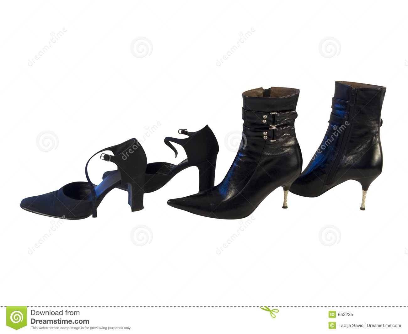 Royalty Free Stock Photo: Woman shoes