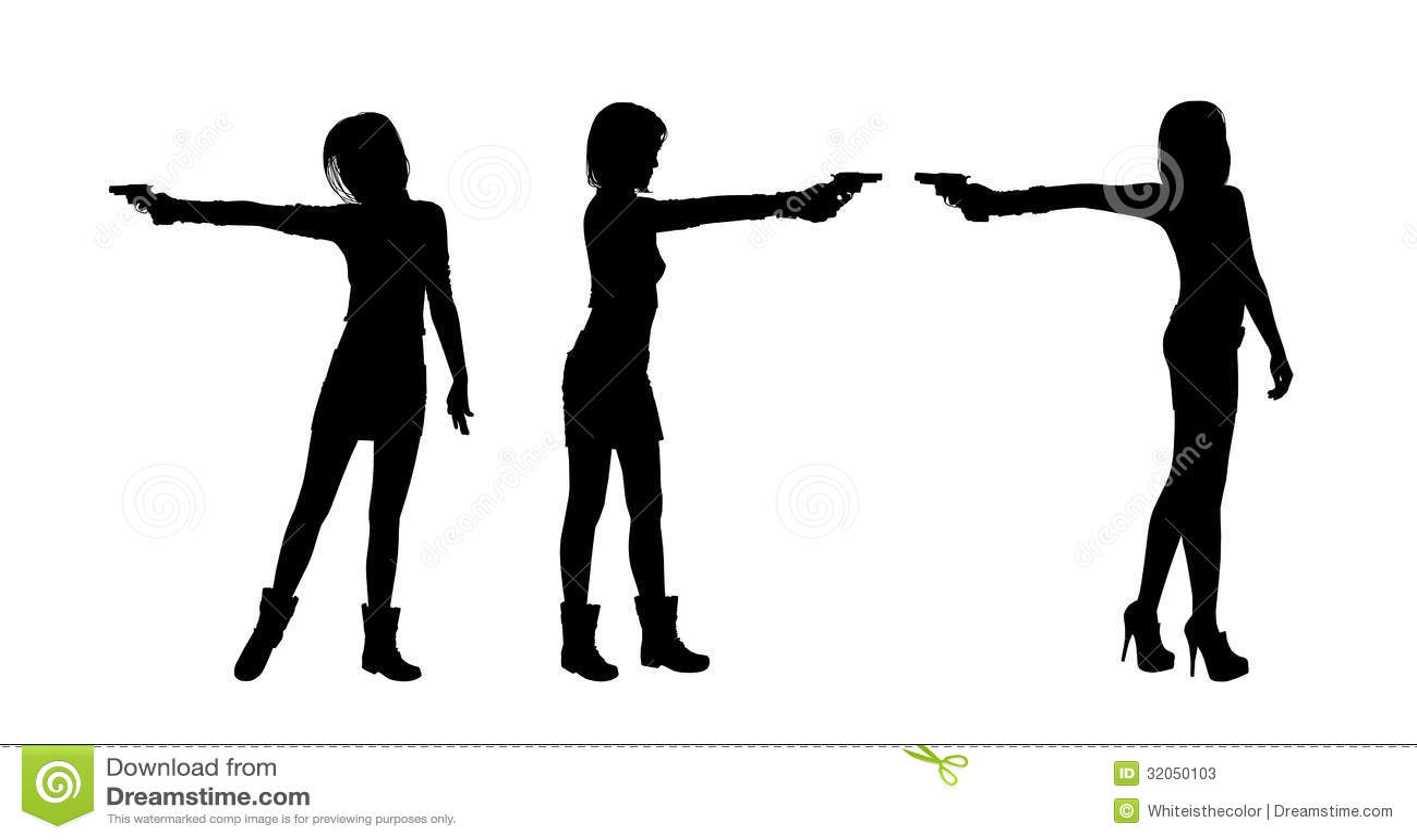 Women Shooting Guns Images, Stock Photos & Vectors ...