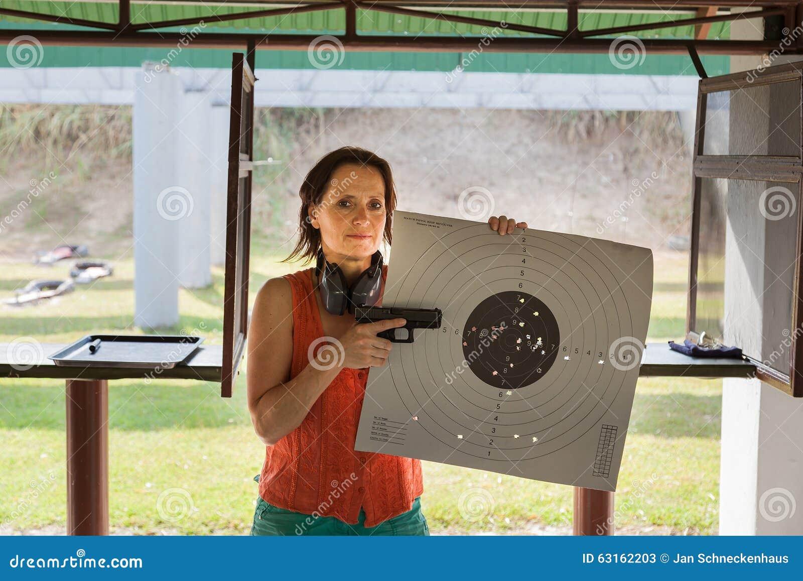 Video Of Woman At Shooting Range 75