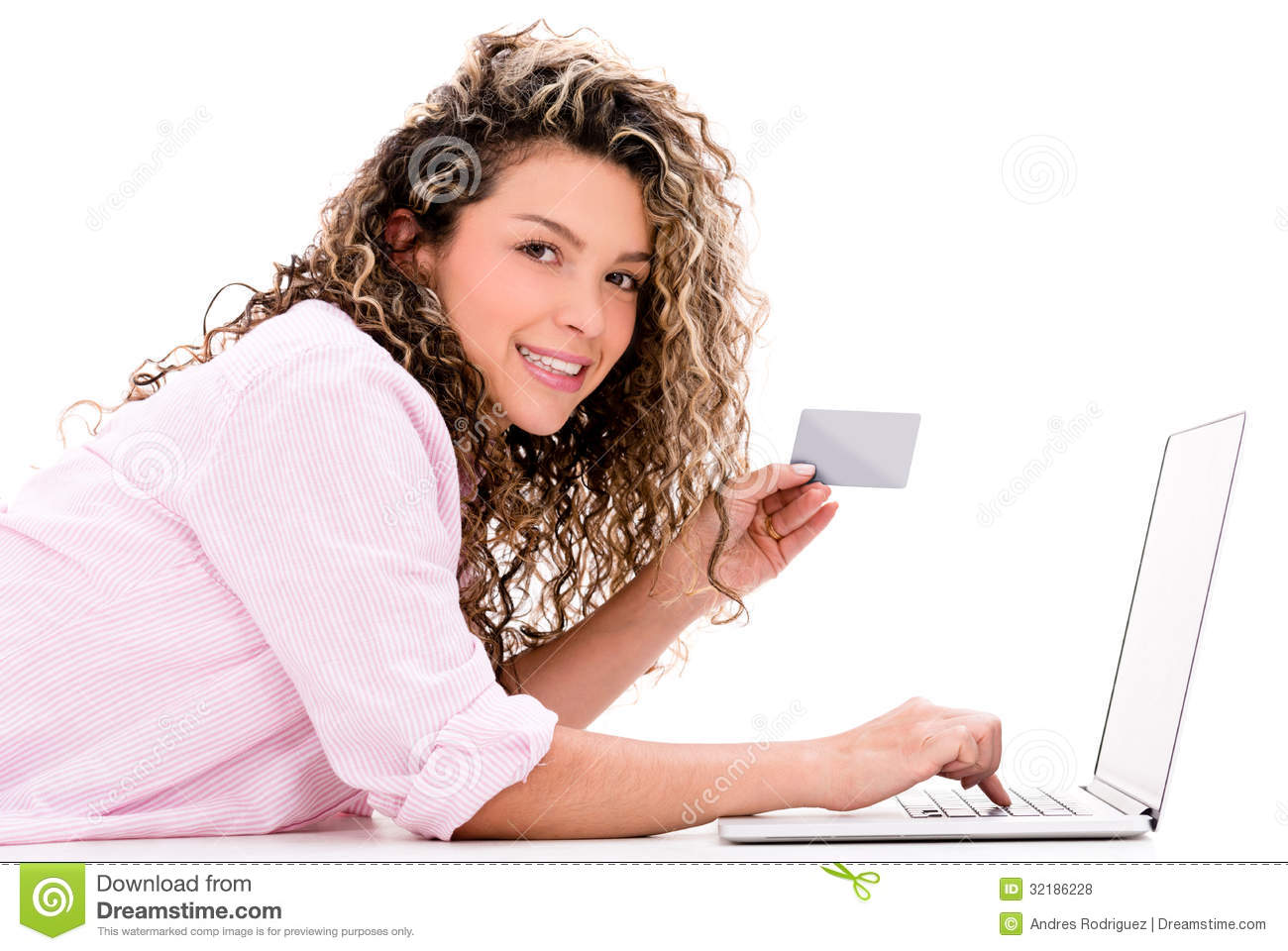 Woman Shopping Online Royalty Free Stock Photos - Image ...
