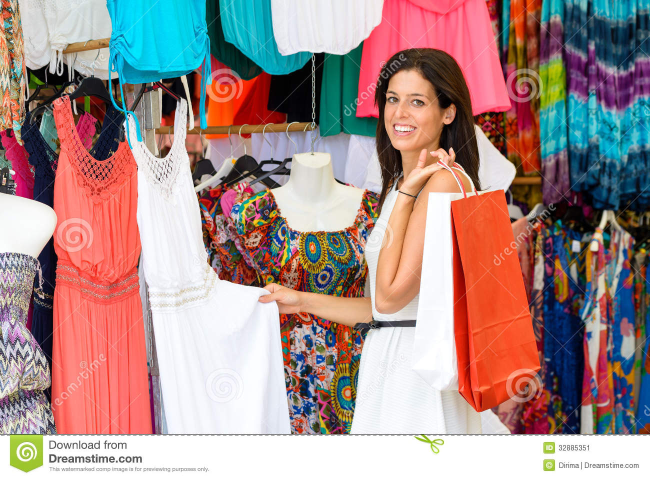 Shopping online sales clothes
