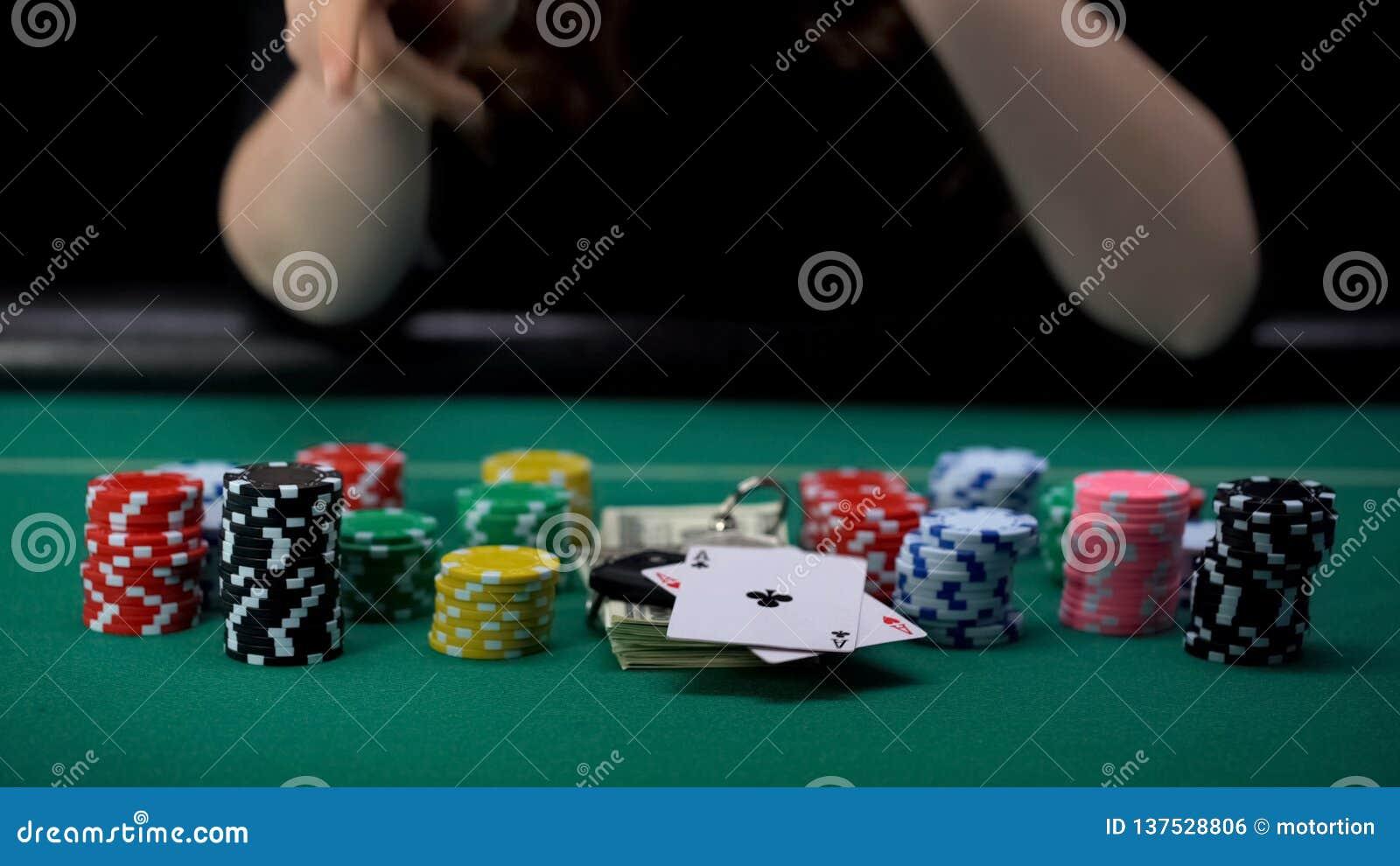 indecent poker girl games