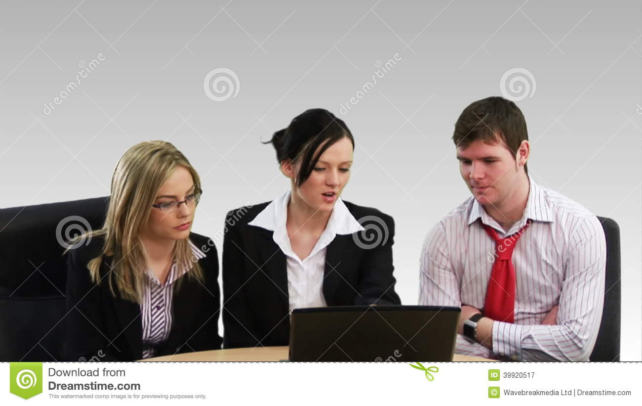 Woman Showing Business Leadership Stock Video Video Of Friendly Confident 39920517