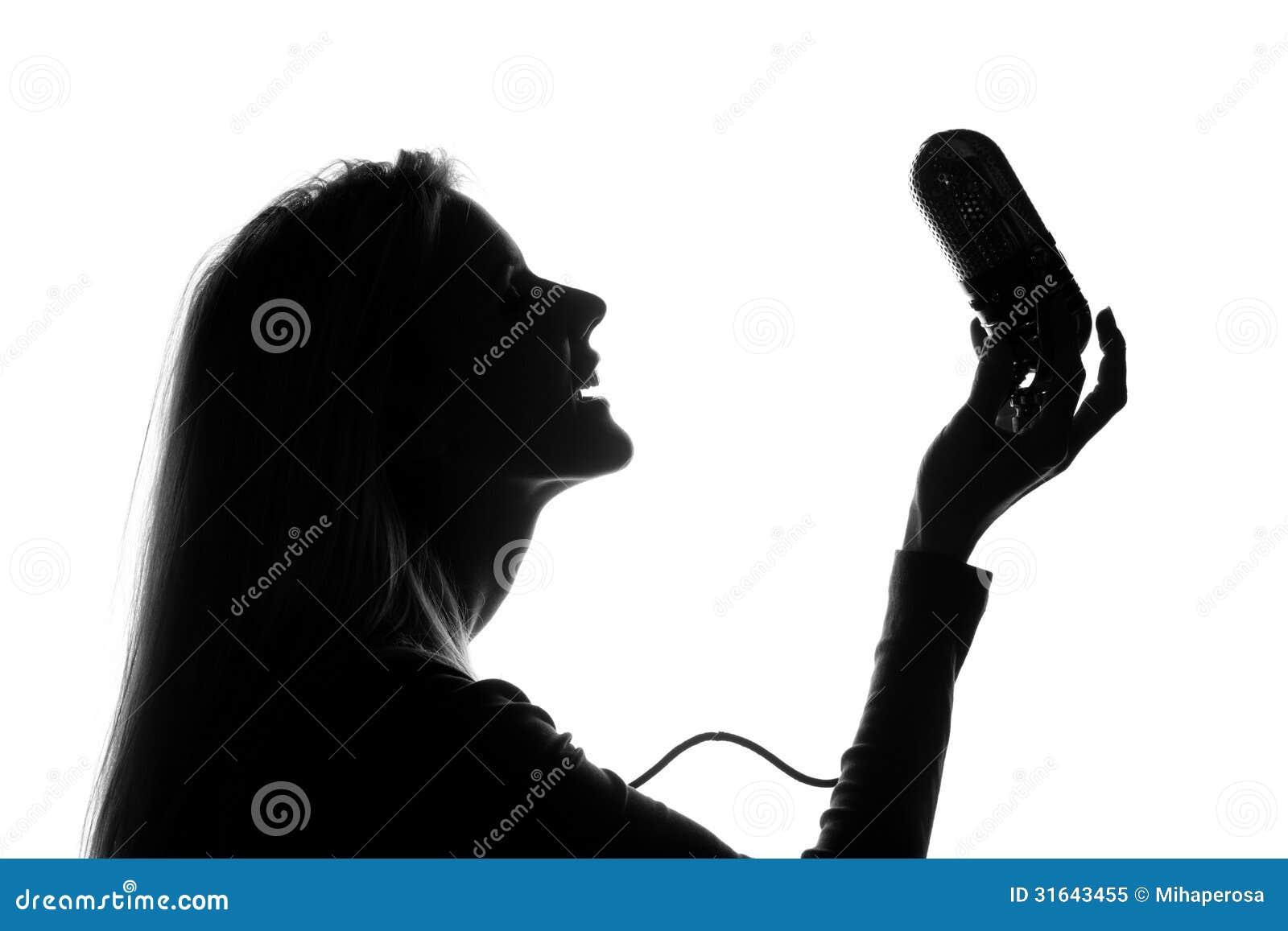 Woman Singing Happy So...