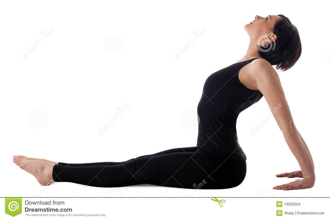 Woman Seated In Yoga Pose Stock Images Image 3640014