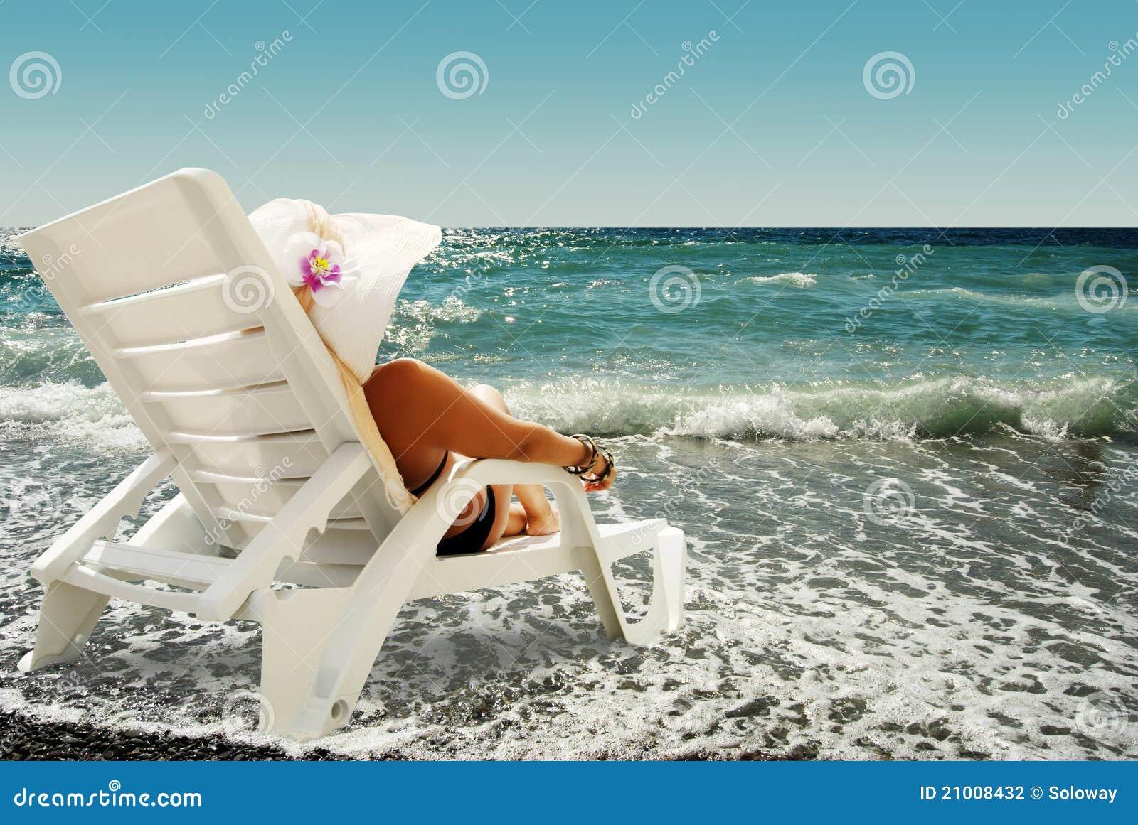Дамы на море