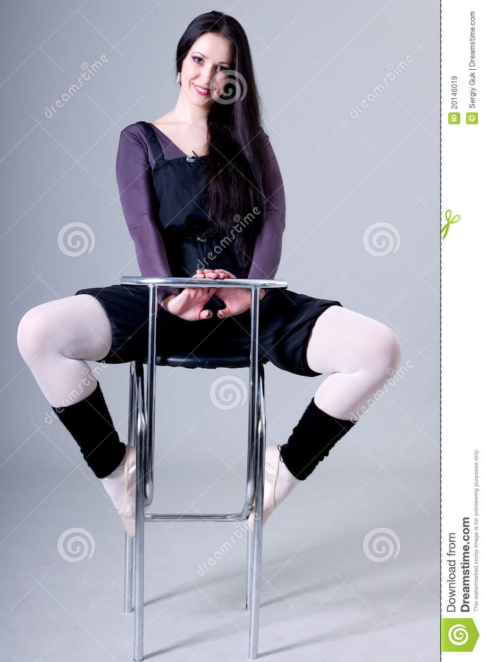 Woman Sitting On Bar Stools Royalty Free Stock Images  : woman sitting bar stools 20146019 from dreamstime.com size 955 x 1300 jpeg 96kB