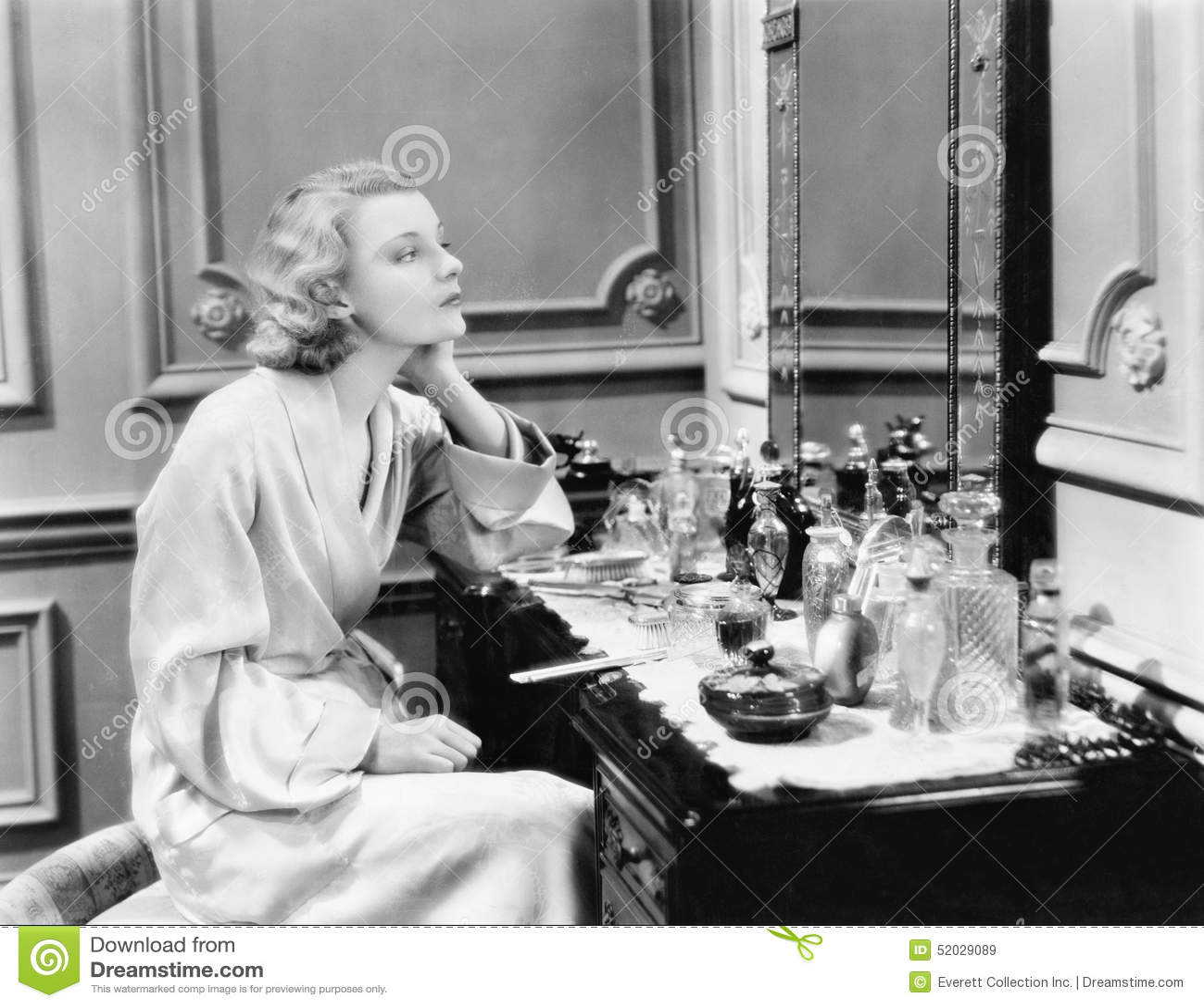 Women and vanity