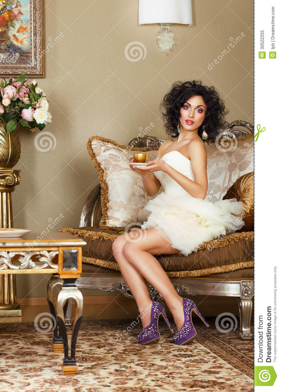 ... Of Coffee. Classic Interior Royalty Free Stock Photo - Image: 30522255