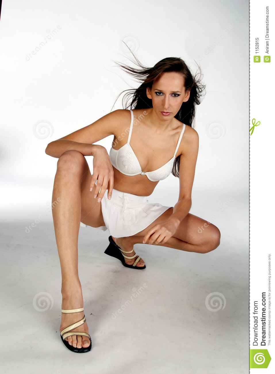 Woman In Skirt Royalty Free Stock Photo - Image: 1152815