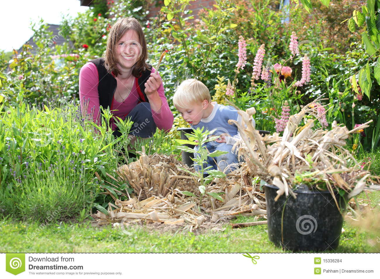 Garden Work Stock Image 28926487