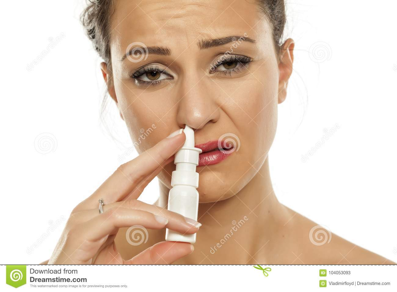 What are needed drops in the nose with an antibiotic for sinus 64
