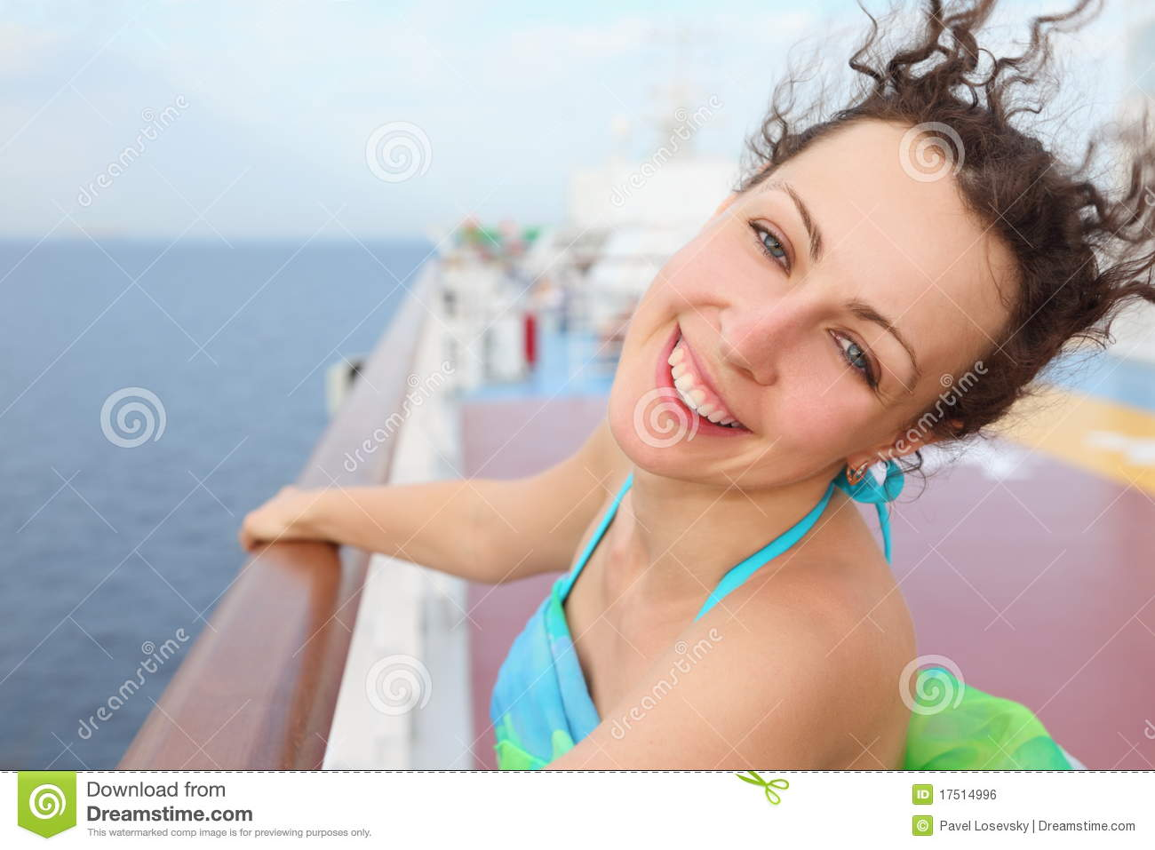 photos images beautiful girl cruise ship