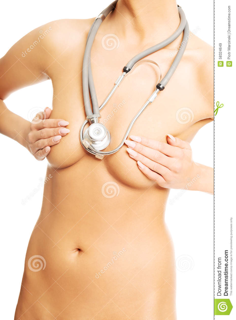 Breast picture of woman