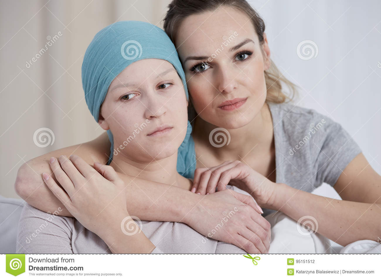 Woman supporting her friend