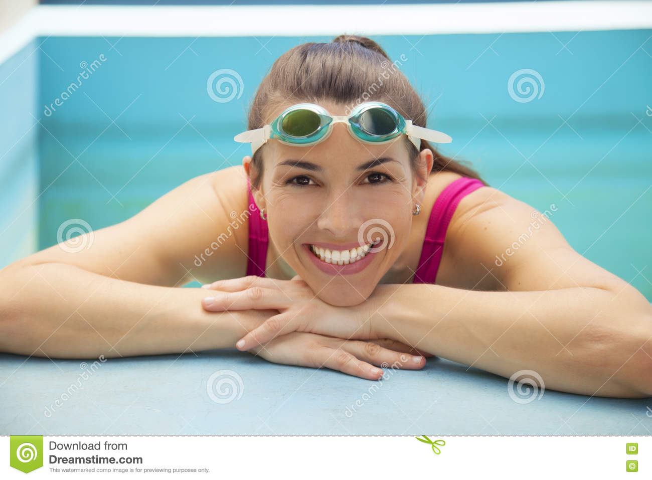 Woman With VR Goggles And Gamepad Stock Photography ...