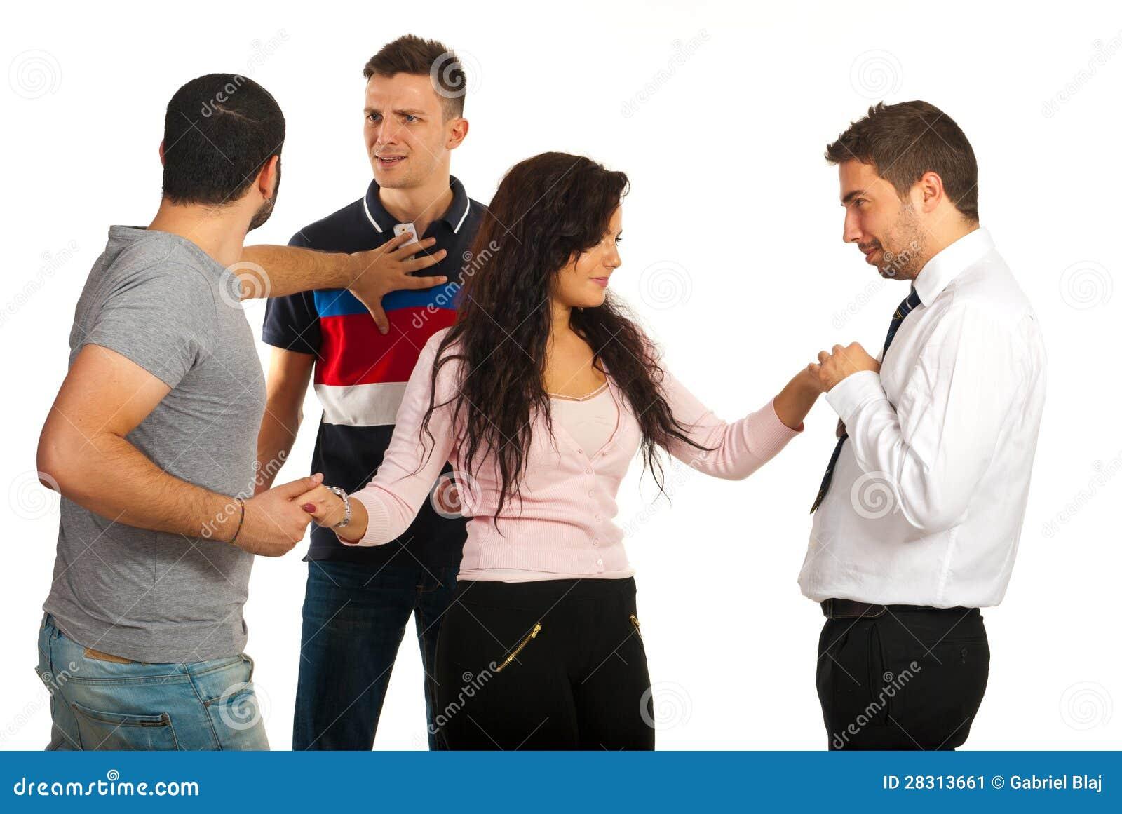 Dating 2 guys at same time