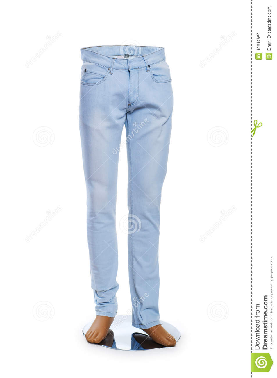 Woman Trousers Isolated Royalty Free Stock Images Image 10612859