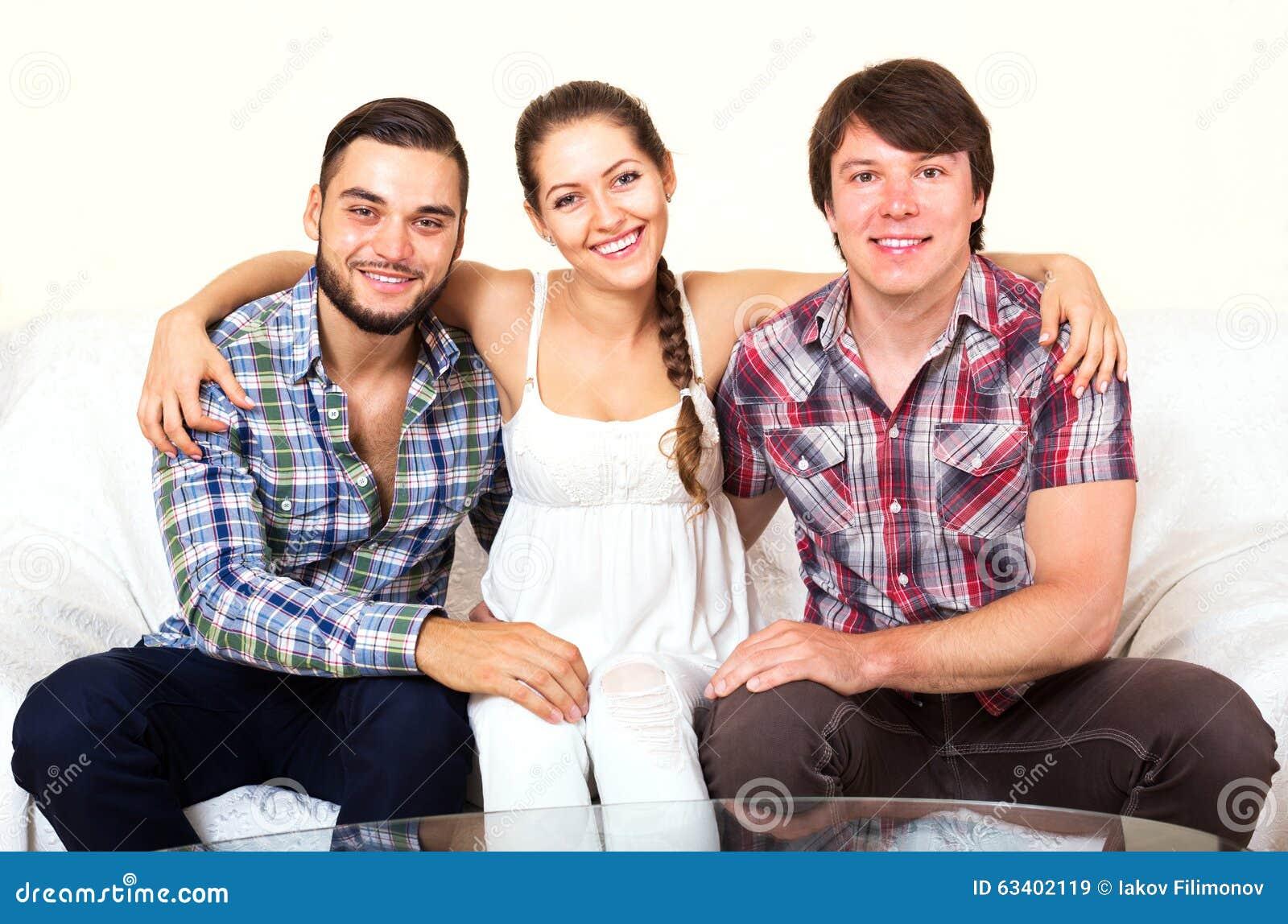Eine Frau Zwei Männer