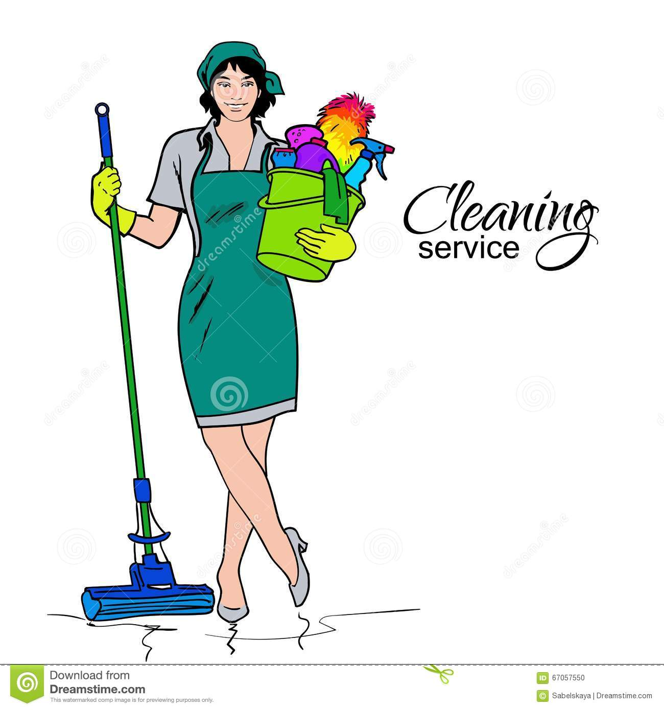 office cleaning services flyers