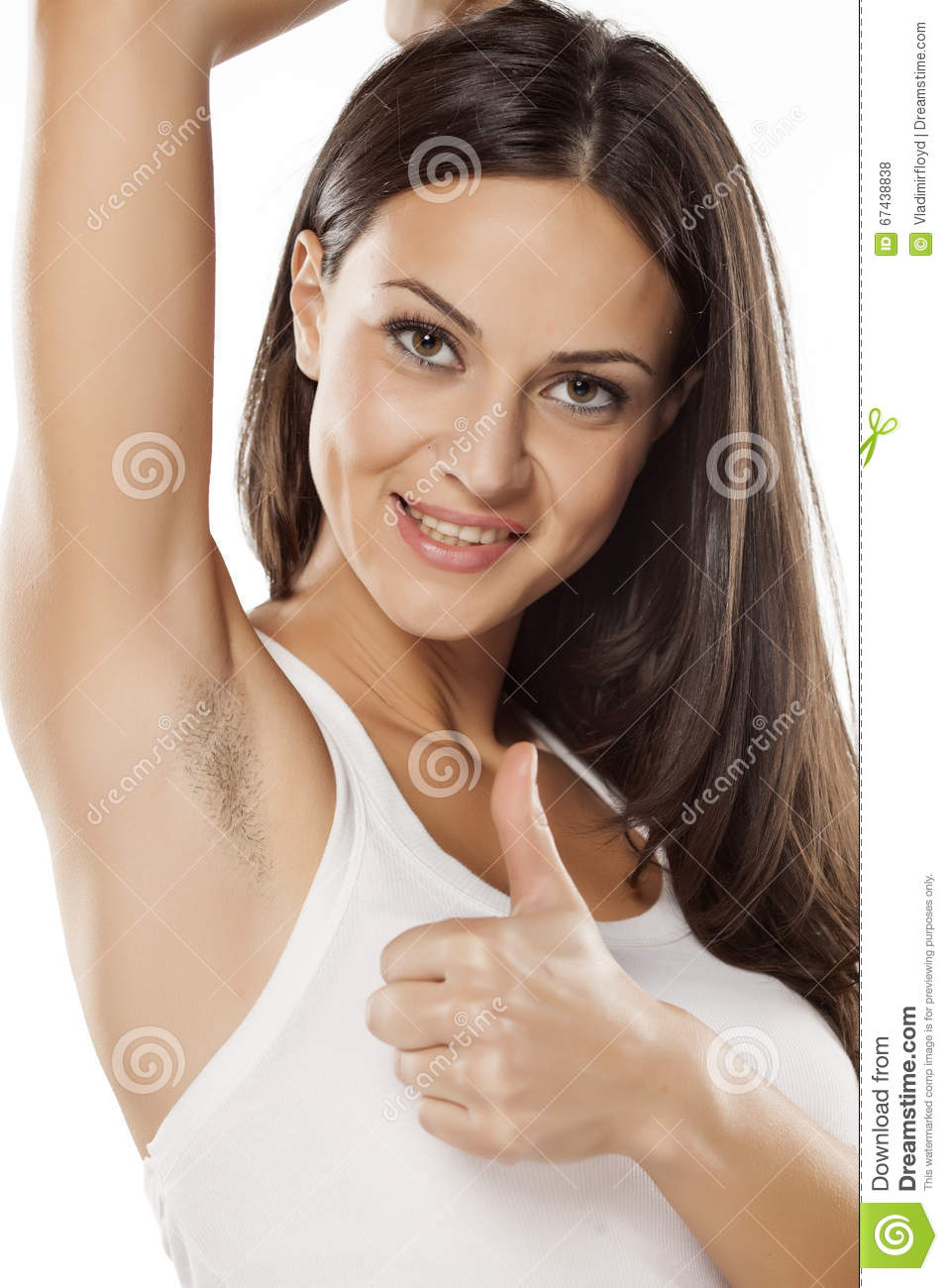 armpit thumbs Hairy
