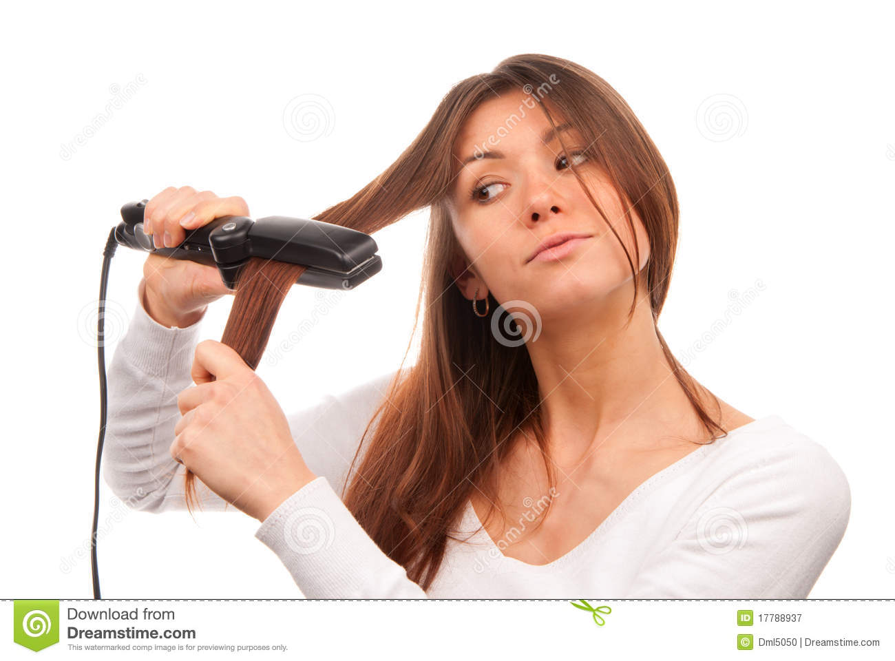 how to get a free flat iron
