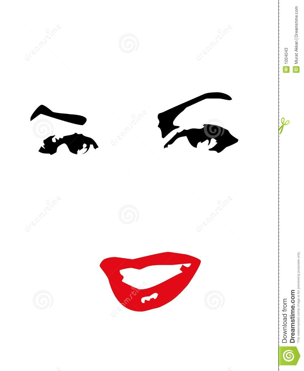 Woman Vector Stock Vector Image Of Adore Gorgeous