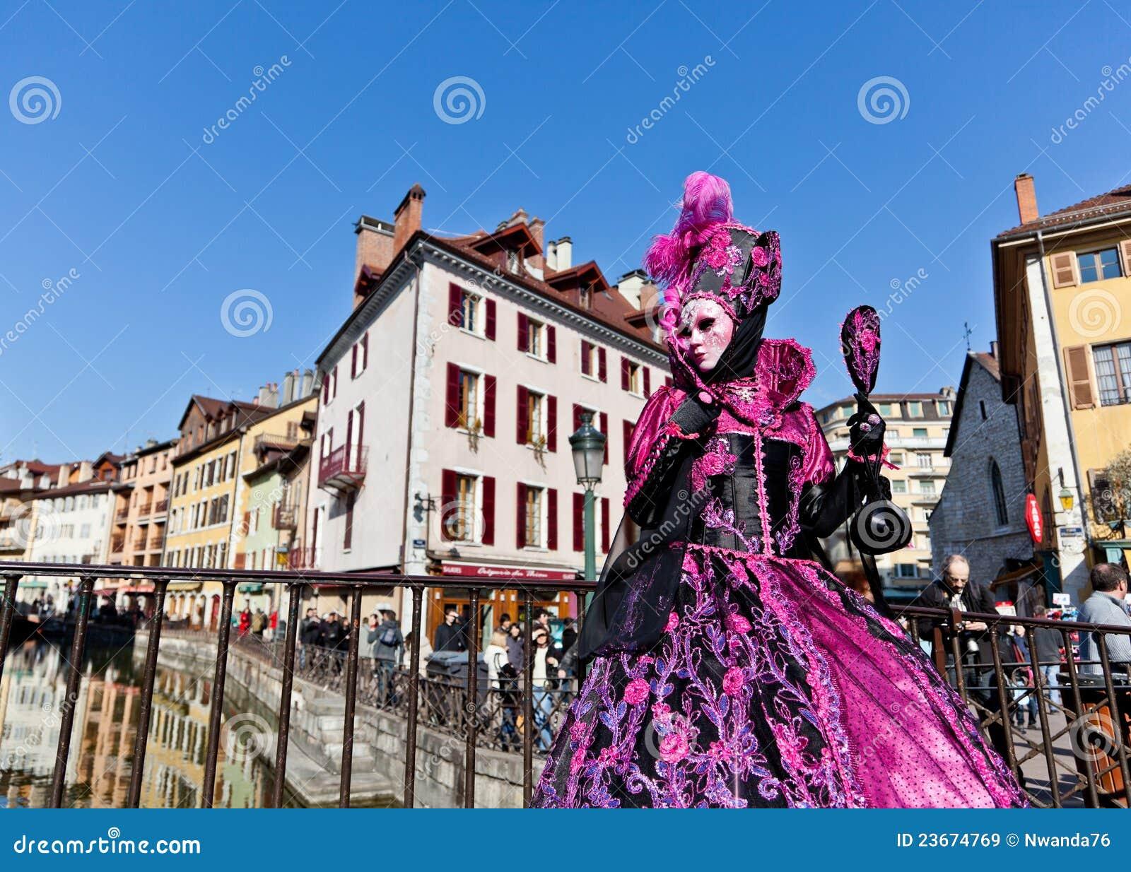 Woman in Venetian Costume