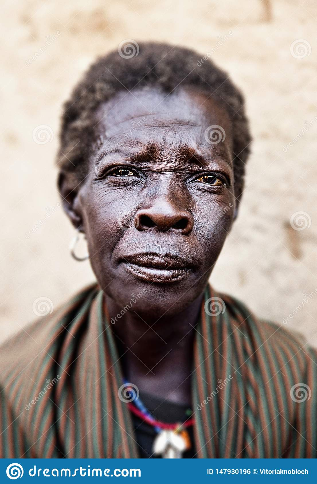 Woman in Kotido in Uganda