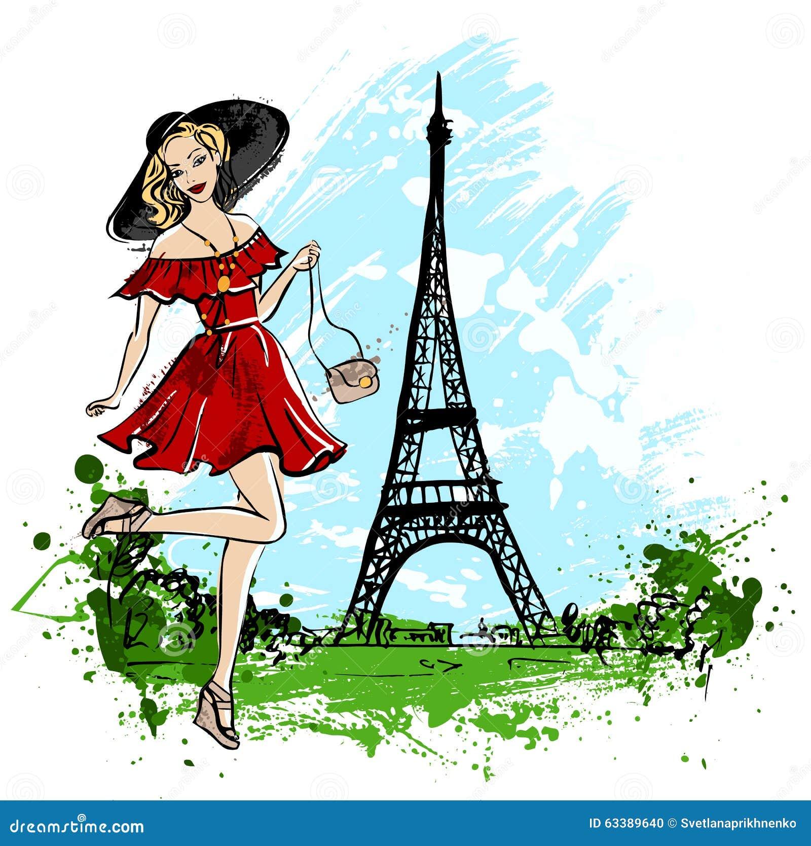 Illustration Fashion Paris