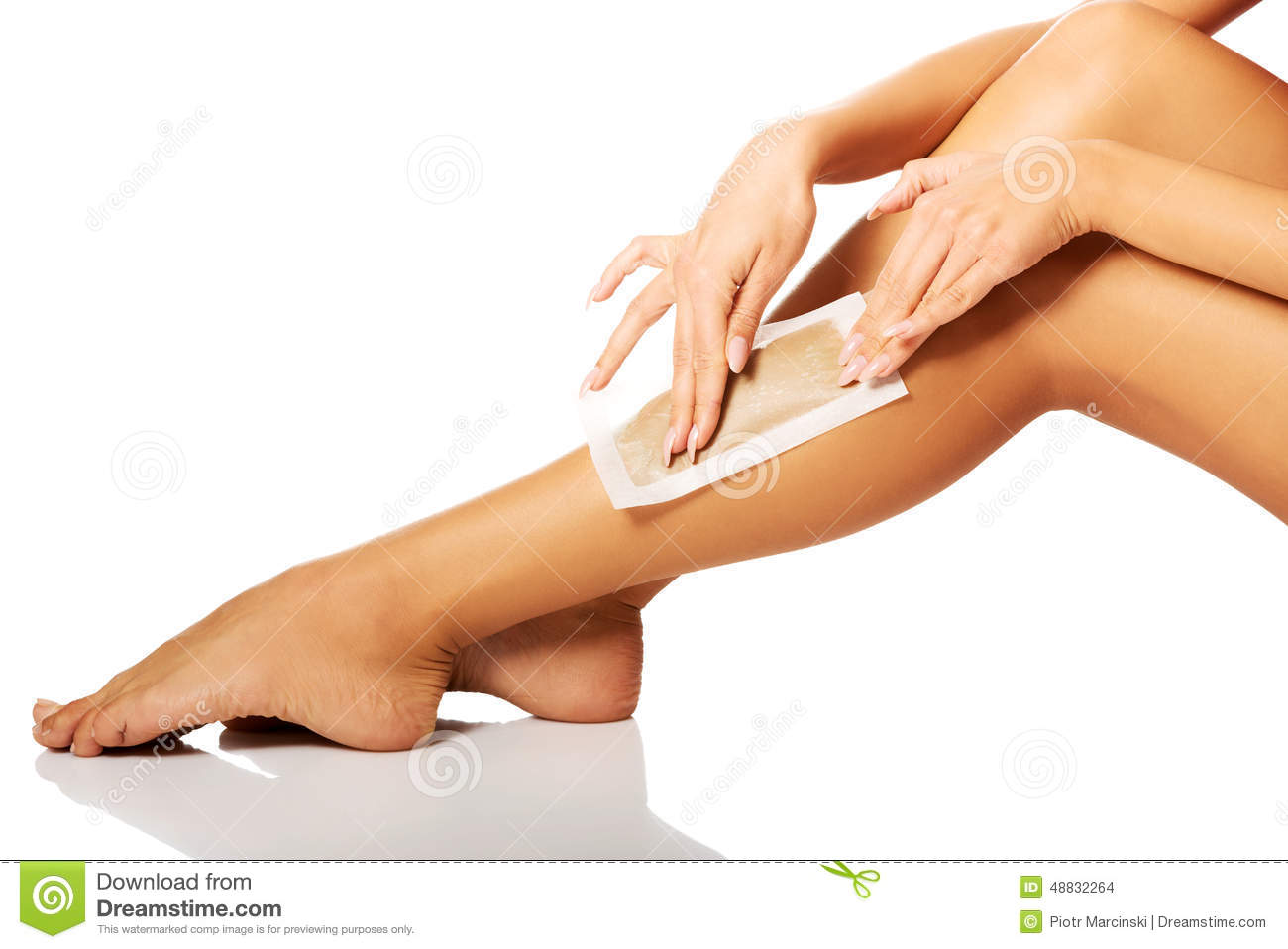 how to get rid of spots on legs after waxing